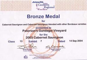 02Canberra Regional 2004 CS03 Br