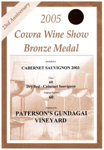 03Cowra wine show 2005 CS03 BR