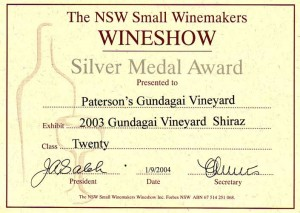05NSW Small Winemakers 2004 Sh03 Sl