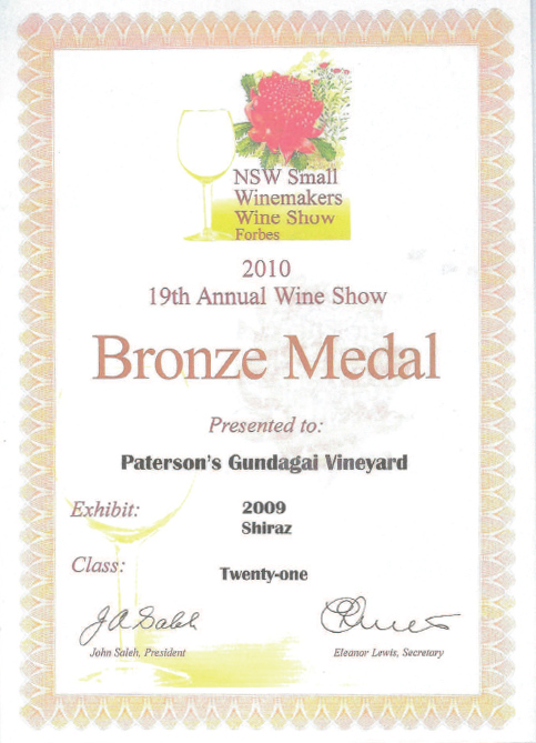 medals - 2009 2010 wines.pdf